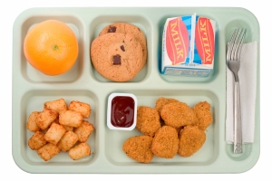 School Food - Chicken Nuggets